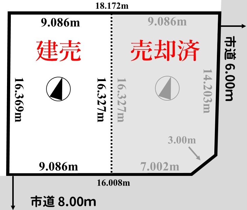 川北土地図面画像